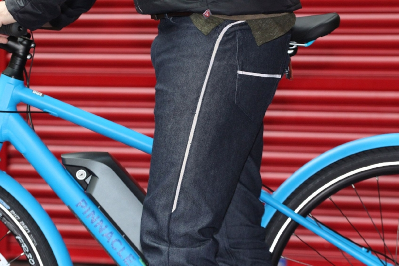 Cycling jeans