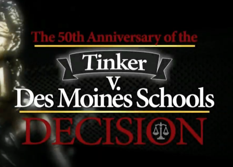 50th anniversary of Tinker v  Des Moines Schools observed — GSPA