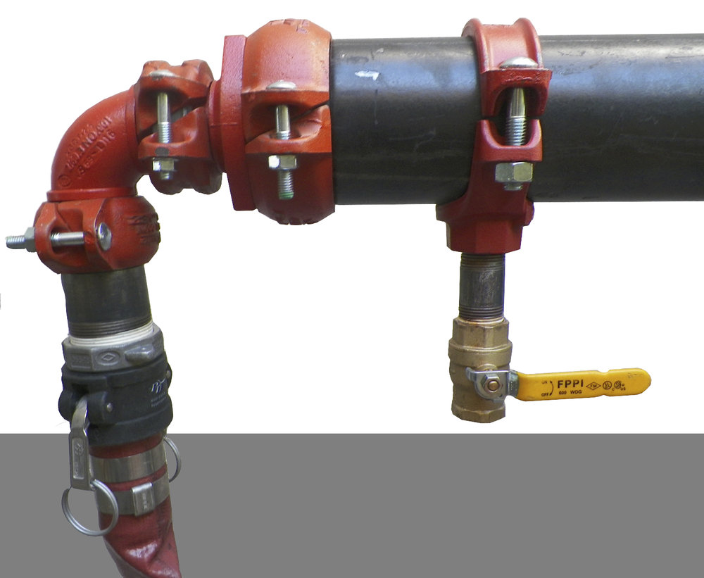 Another method of attaching hose to main. (fitting included)