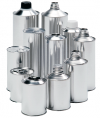 Cone & Pour Top Cans:   Our cone and pour top cans are widely used in a wide range of applications and industries. They are available in a variety of sizes and configurations.