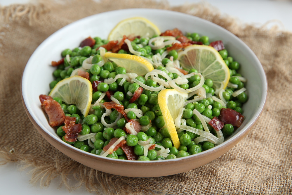 The Judy Lab Creamy Peas with Shallots and Bacon.jpg