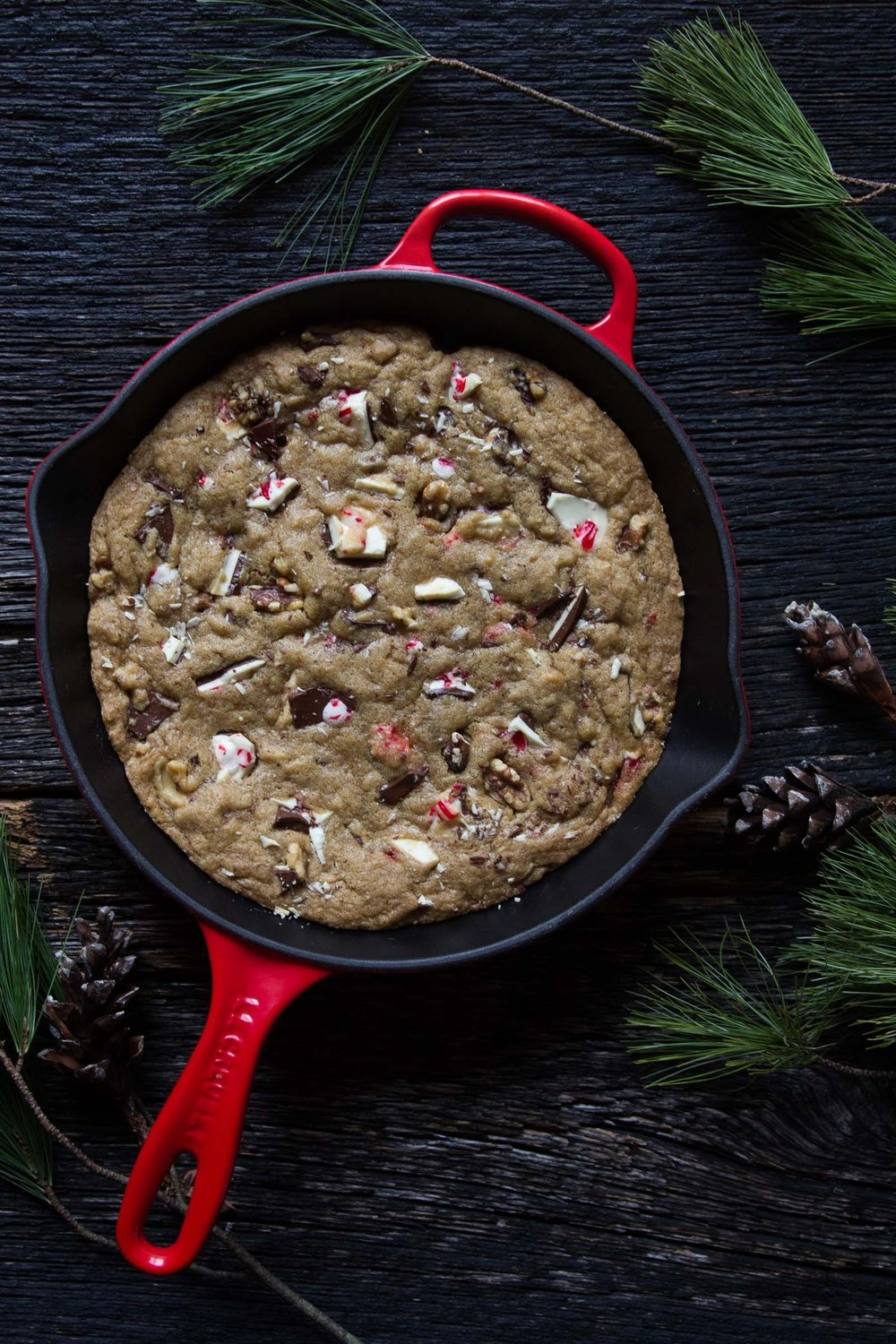 The Judy Lab Peppermint Bark Skillet Cookie.jpeg