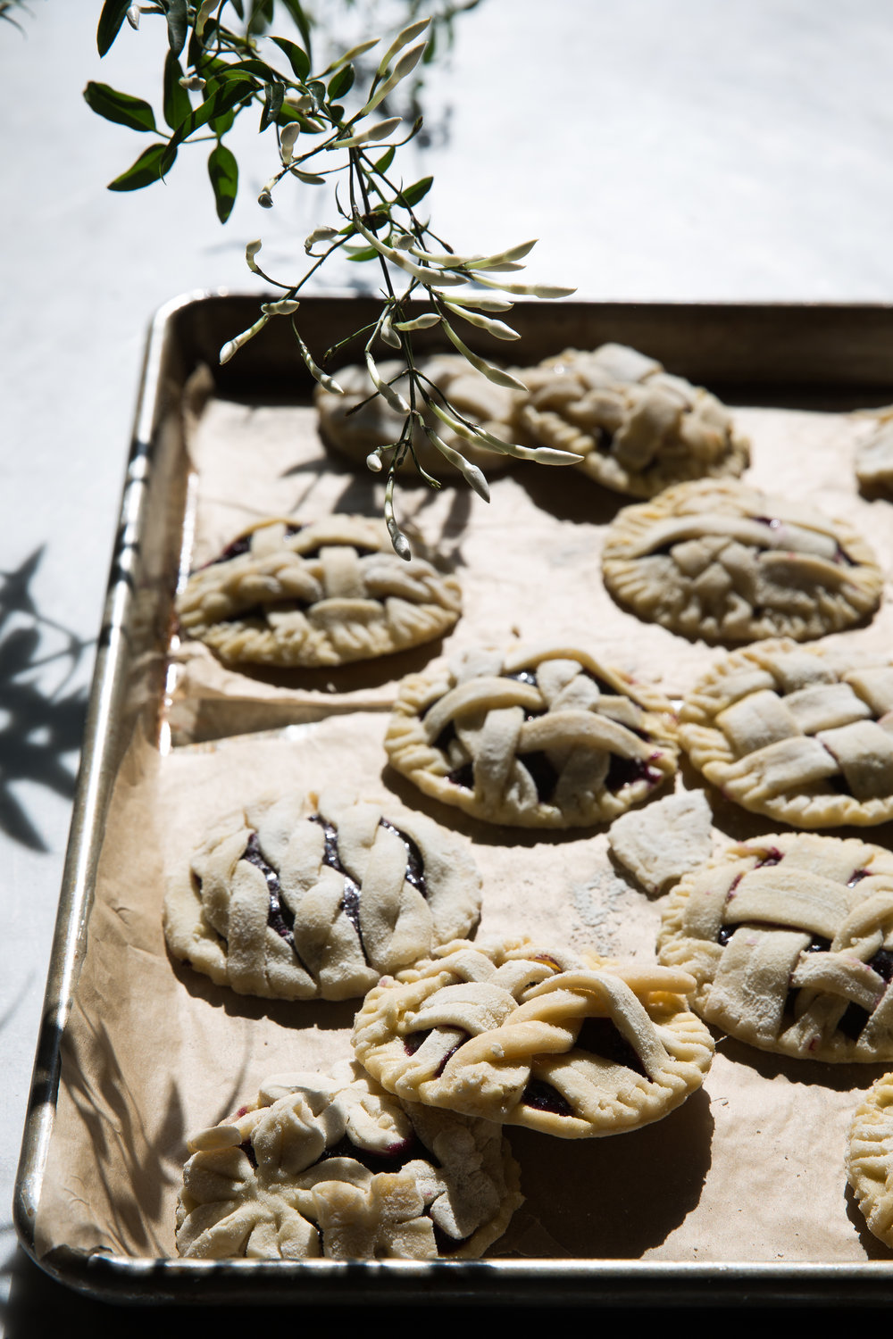 Blueberry Hand Pies food stylist Judy Kim