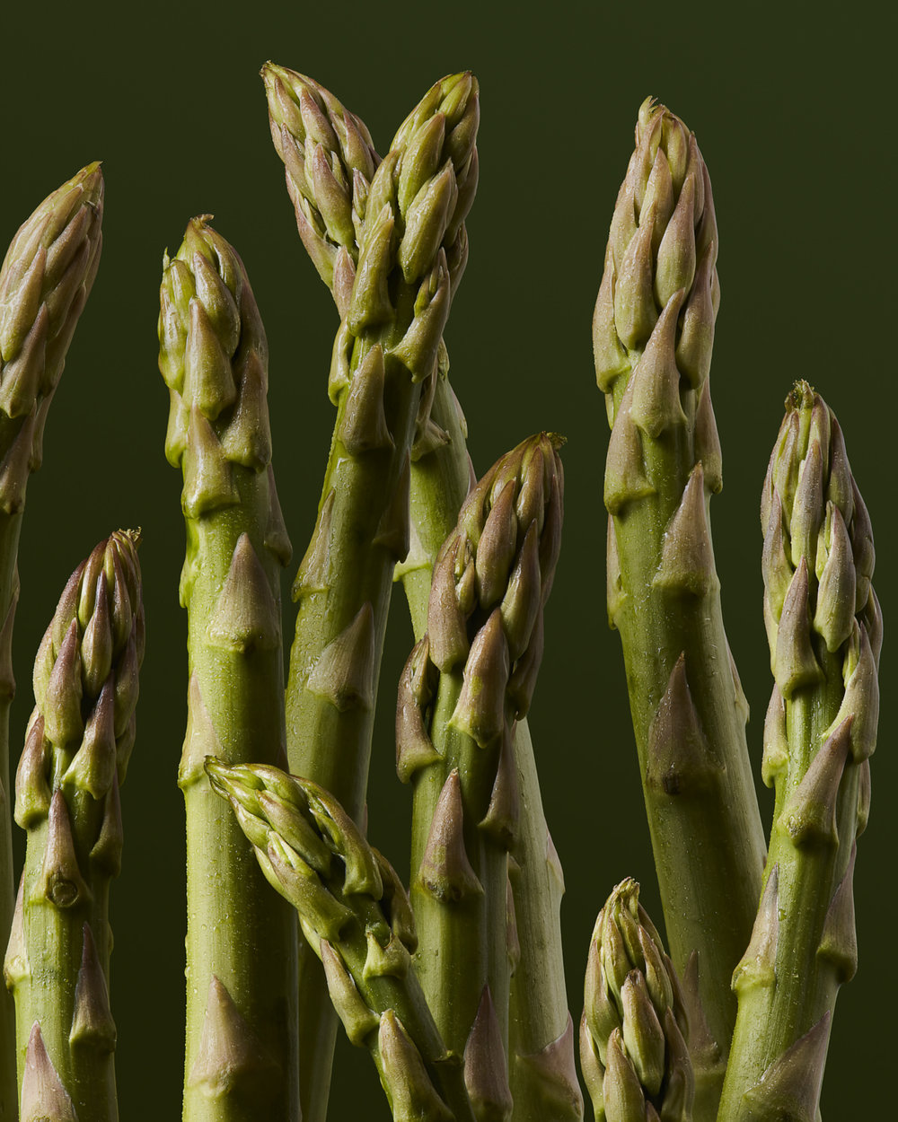 Asparagus Food Stylist Judy Kim Photographer Josh Dickinson