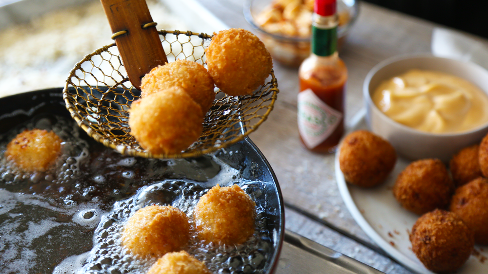 Judy Kim, Food Stylist, Tabasco, Arancini