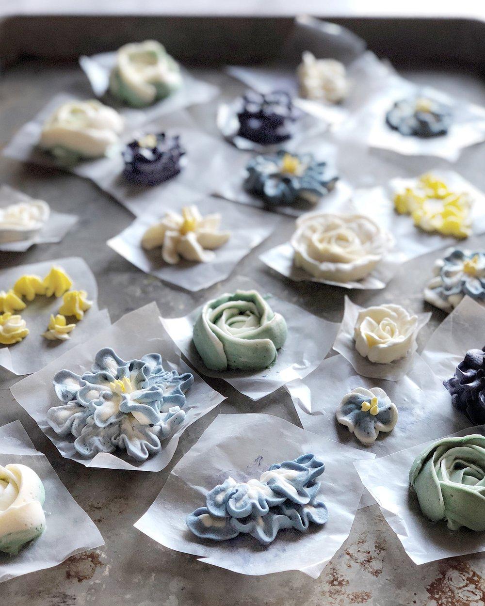 judy kim floral cake decorating workshop