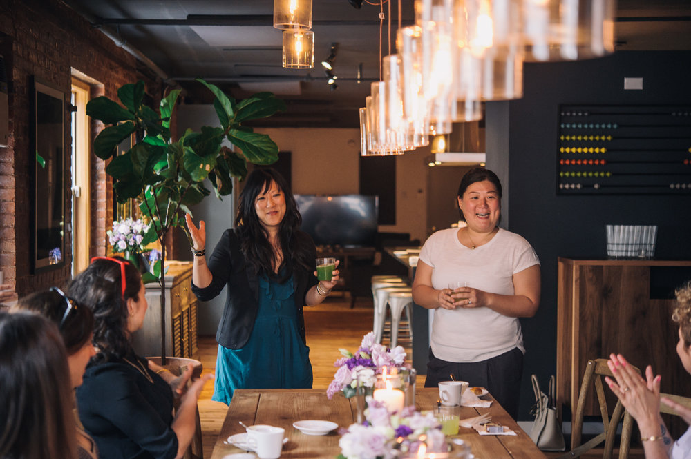 Judy Kim & Grace Park at The Kitchen Table. Photo by  Kris Mae Photography