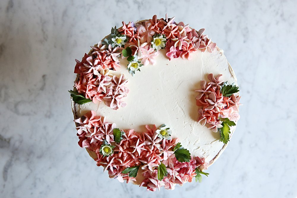 Judy Kim, Pink Hydrangea Coconut Cake