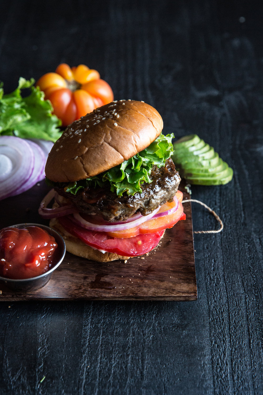 James Beard Hamburger, Food Stylist Judy Kim