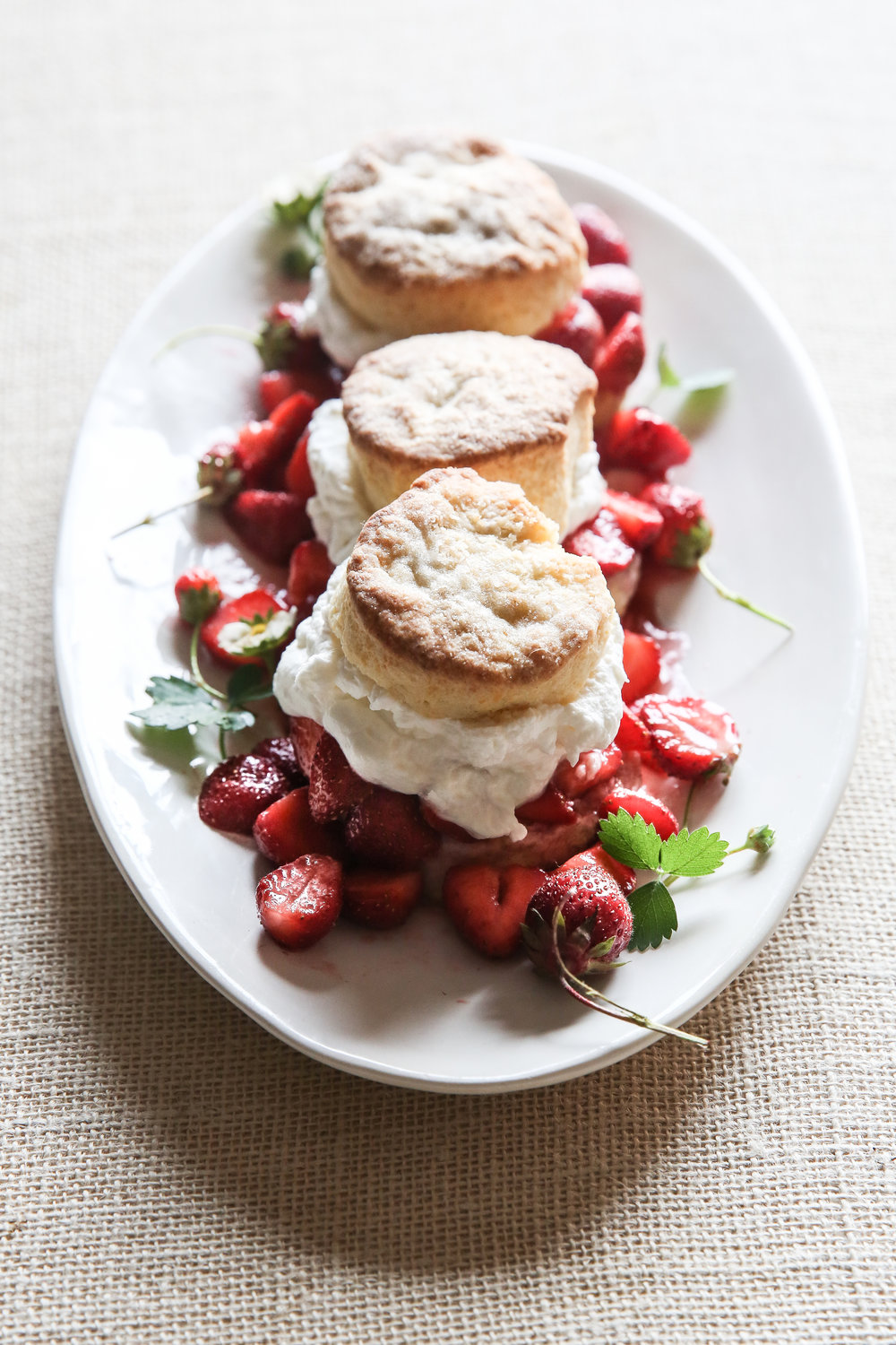 Strawberry Shortcake, James Beard, Food Stylist Judy Kim