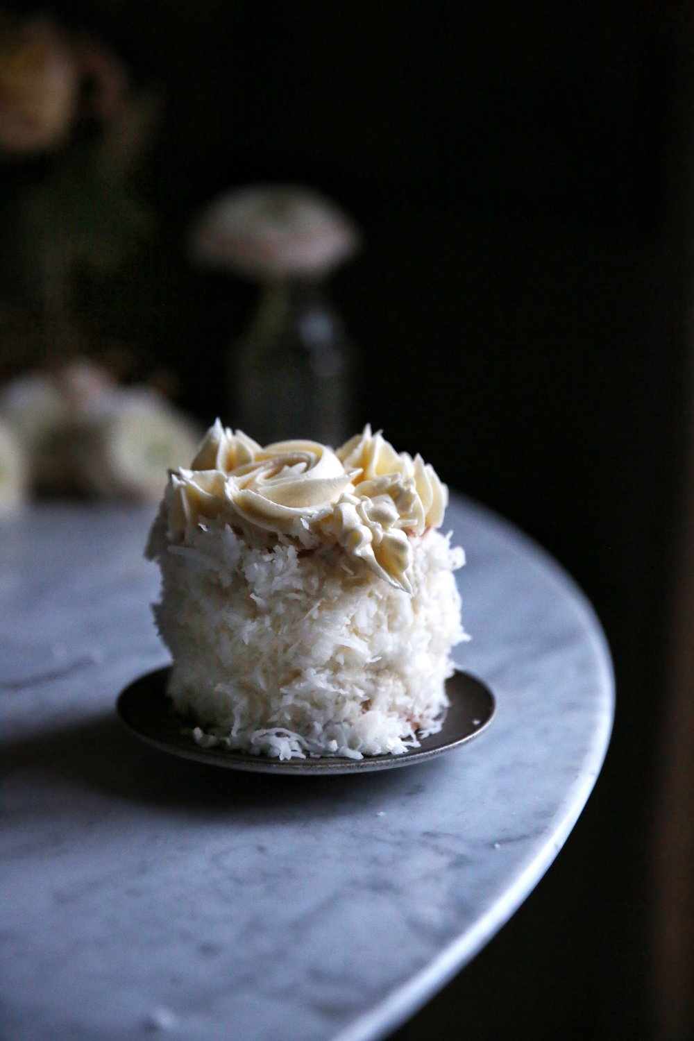 Mini Coconut Cake, Food Stylist Judy Kim