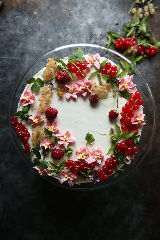 Olive Oil Cake, Floral cake, Food Stylist Judy Kim