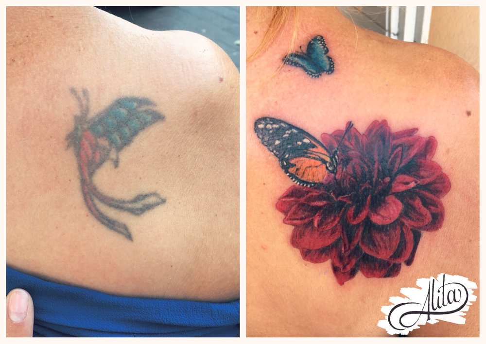 Chrysanthemum Flower Coverup