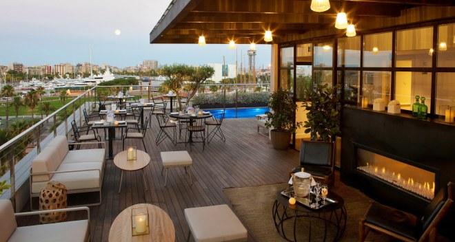 The Serras Hotel, Barcelona (Spain) - Outdoor Furniture — Jausás & Co