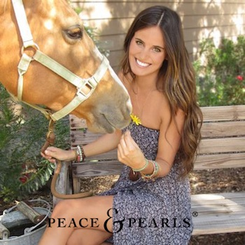Peace & Pearls - Redefining women's contemporary essentials that embody the California lifestyle.