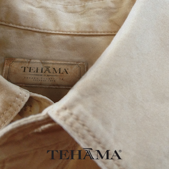Tehama - With an admiration for nature, Tehama was created to outfit the modern sophisticated male and female adventurer. Drawing inspiration from the earth, Tehama encompasses a full spectrum of attire from tailored shirts to relaxed, classic pieces and transitional outwear. Whether you're blazing the trails of the Smoky Mountains, or enjoying a glass of wine on the California coast, the Tehama line will be the stylish compliment to wherever your travels take you.
