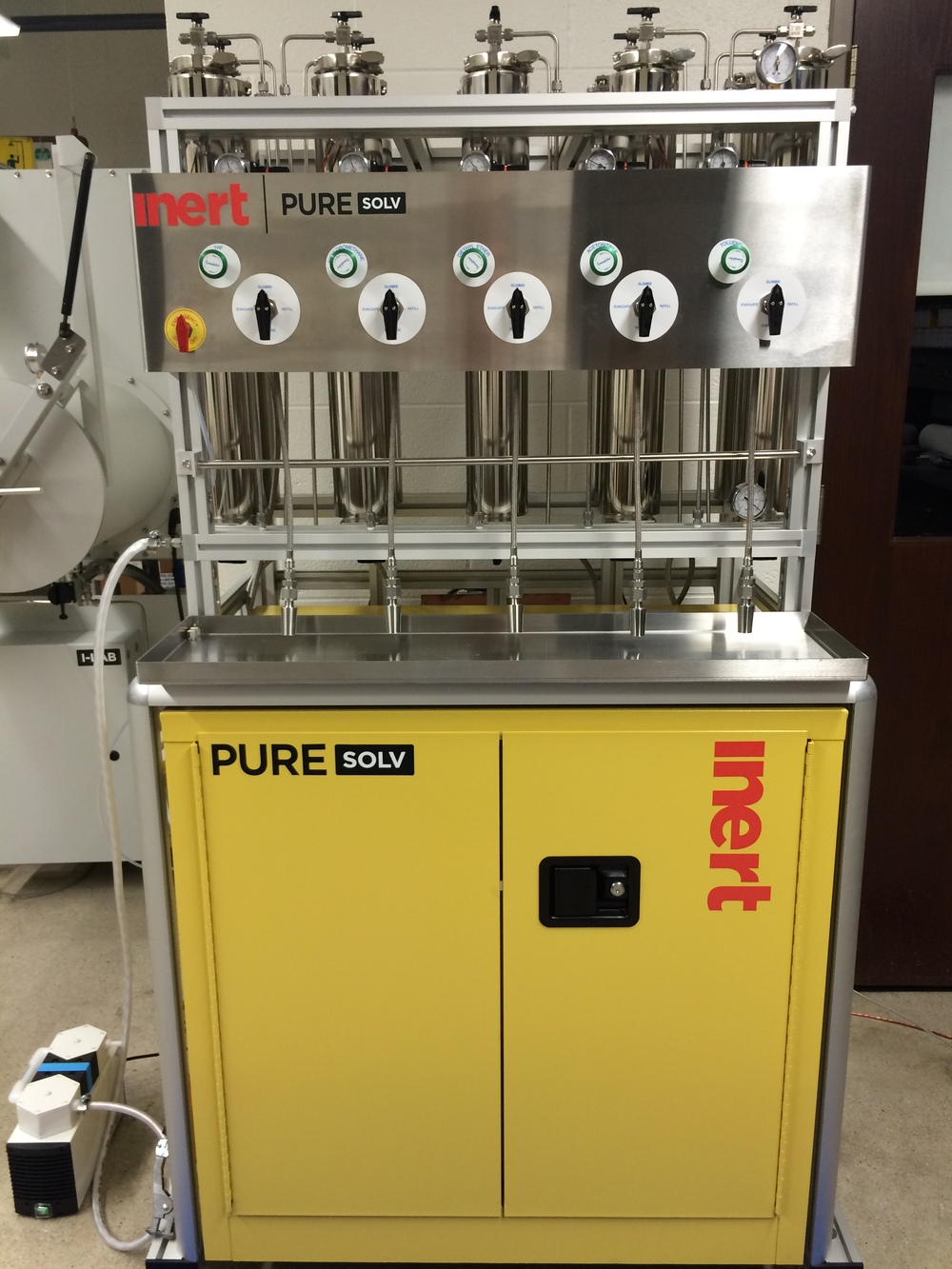 Inert Solvent Purification System