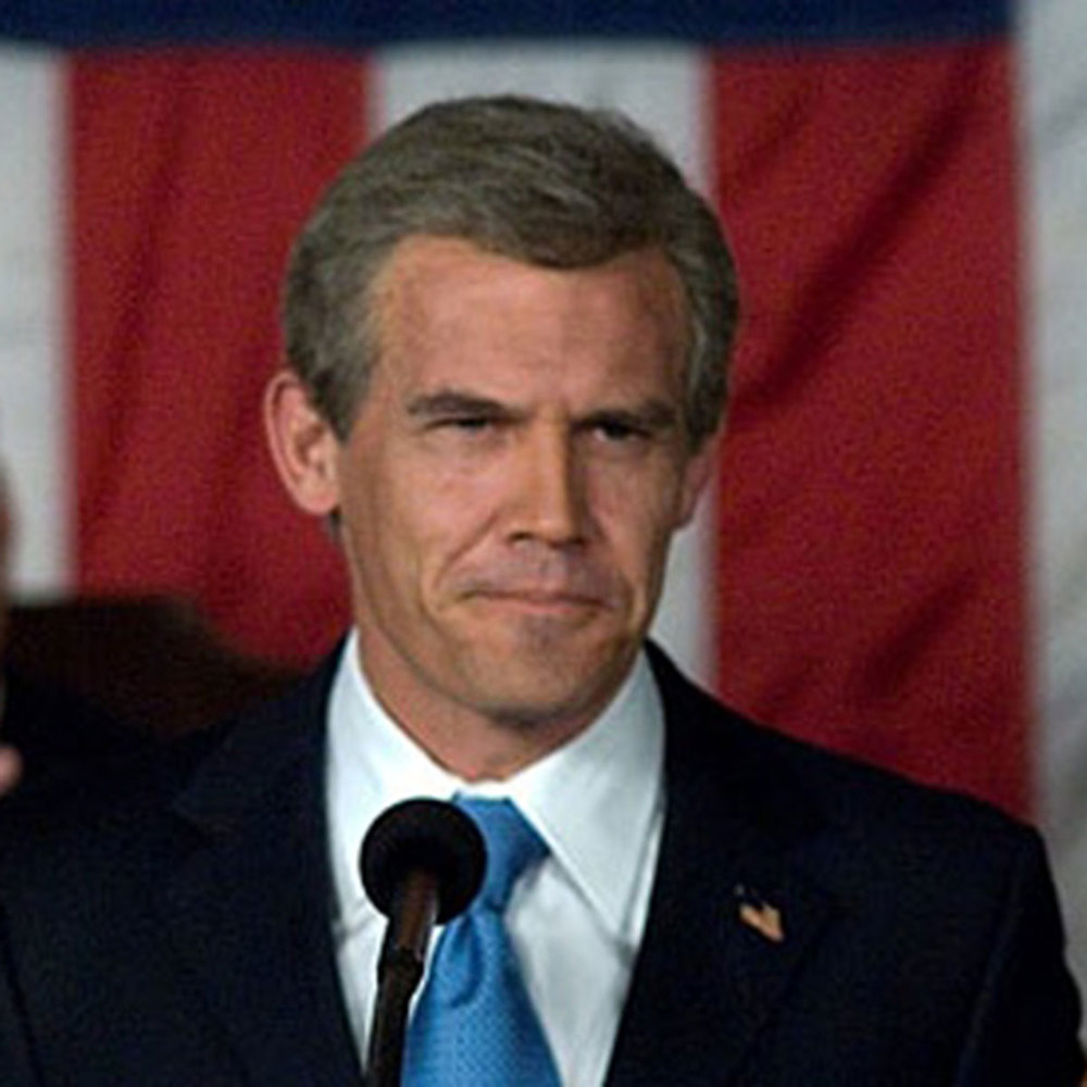 Josh Brolin, George W. Bush