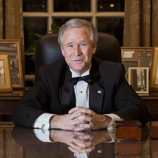 John Morgan, George W. Bush