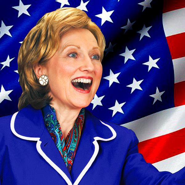 Kelley Karel, Hillary Clinton