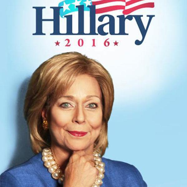 Holly Faris, Hillary Clinton