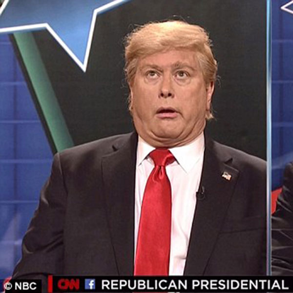 Darrell Hammond, Donald Trump