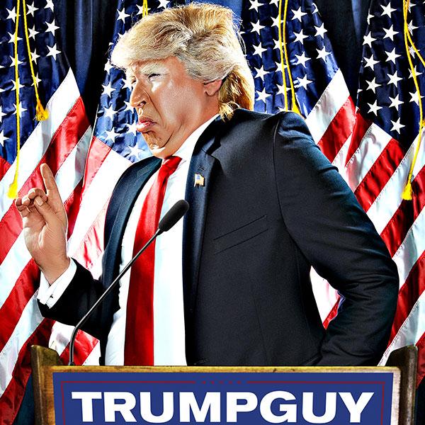 Dustin Gold, Donald Trump