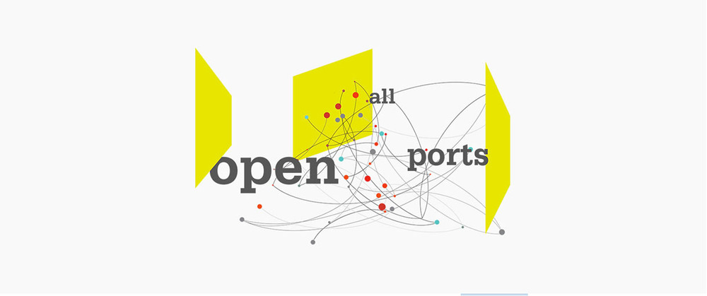 "I will be presenting a paper titled ""dsffsdfsdfsdf:dsfsfsdffsfd"" at Open All Ports: the 15th Bienial Symposium in Arts and Technology at the Amerman Center for the Arts and Technology at Connecticut College on Fevruary 25th."