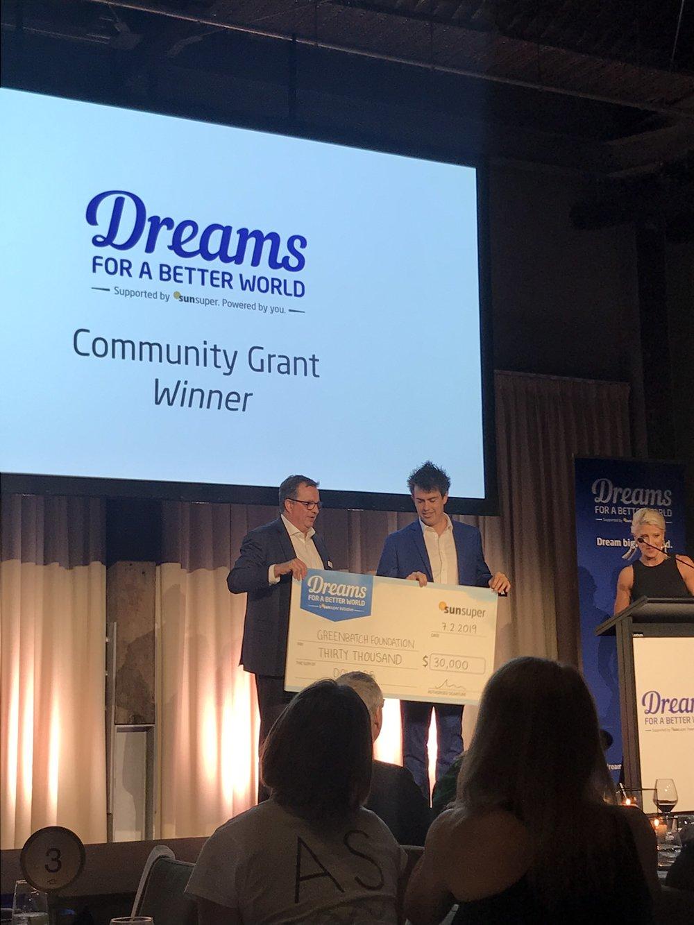 Community Grant Winner