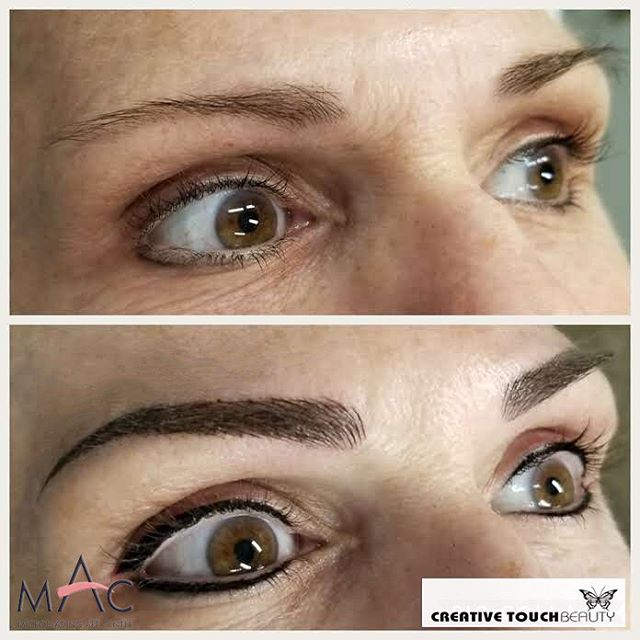 Fresh pair of brows and eyeliner for this lovely client. Wake up with no makeup! The purpose of Microblading is to enhance your brows in the most natural way available today. This treatment is customized for each client. Book your appointment at http://www.creativetouchbeauty.com or call (916) 571-2771 for more info. #microbladingartcenter #folsom #microbladingartcentersacramento #sacramento #granitebay #eldoradohills #microstrokes #featherstrokes #microblading #wakeupwithmakeup #microbladingtraining #creativetouchbeauty #alopecia #girlswithtattoos #eyebrows #brows #microbladingsanfrancisco #lipsmakeup #makeupmafia #transformation #makeupartist #permanenteyebrows #naturaleyebrows #microbladingfolsom #beautiful #microbladingmen #inspiration #makeup #permanentmakeup #sacramentomicroblading