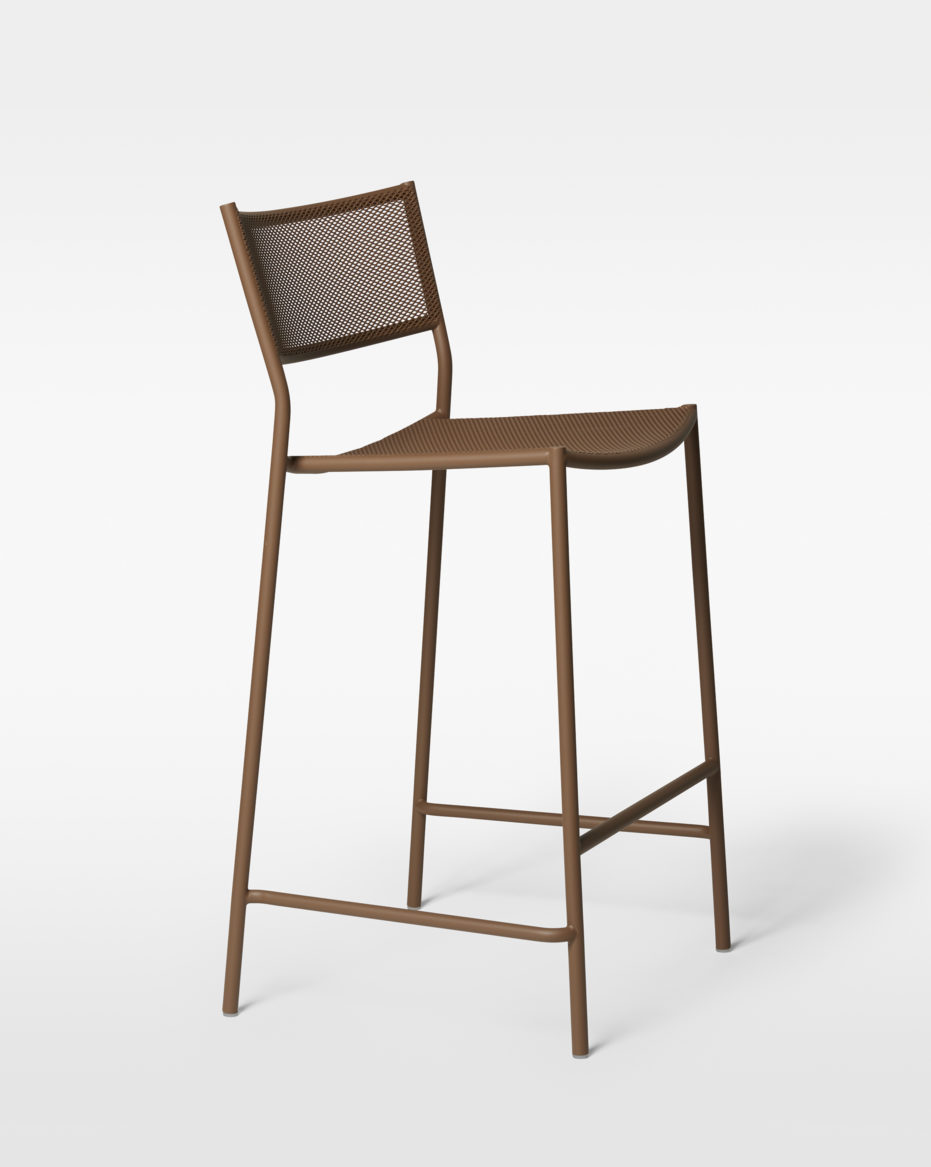 Jig Mesh Bar Stool / MASSPRODUCTIONS Product Link SPEC SHEET - Inquire within - info@smlpond.com
