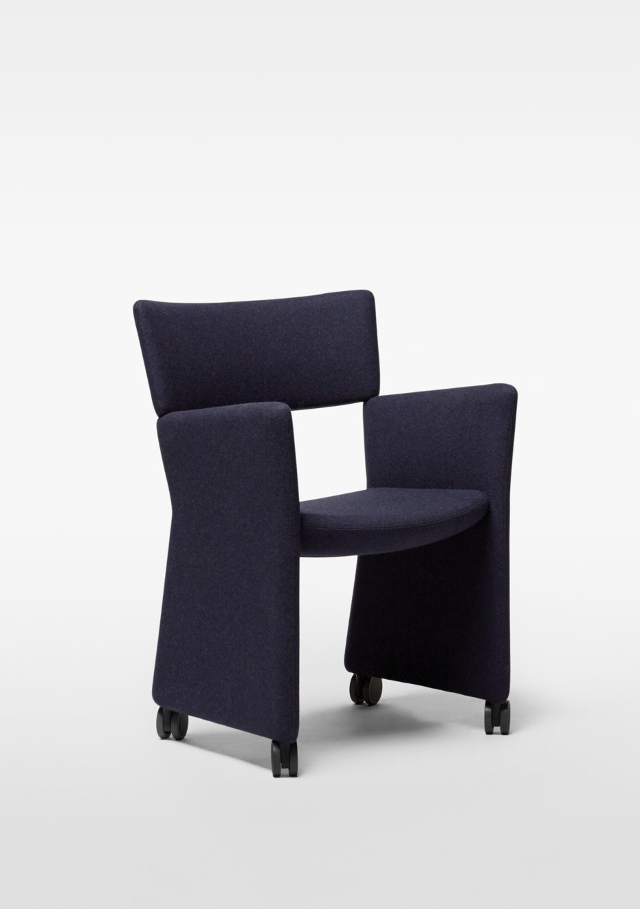 Crown Armchair - Castors / MASSPRODUCTIONS Product Link SPEC SHEET - Inquire within - info@smlpond.com