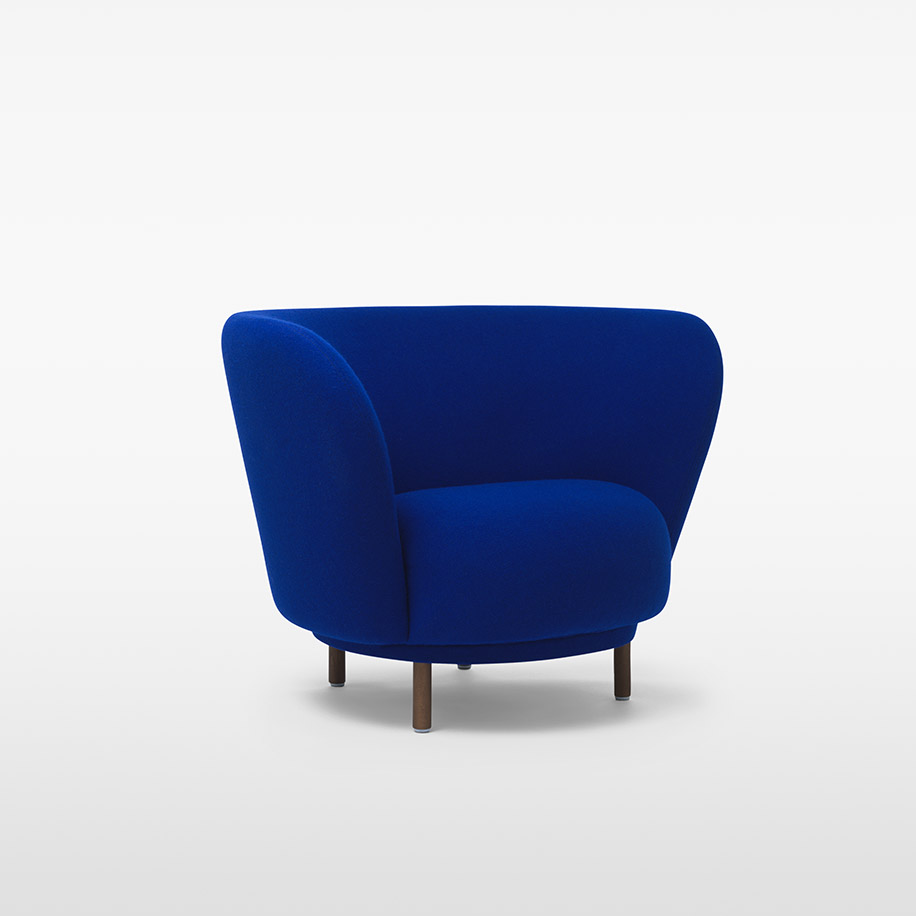 Dandy Armchair / MASSPRODUCTIONS Product Link SPEC SHEET - Inquire within - info@smlpond.com