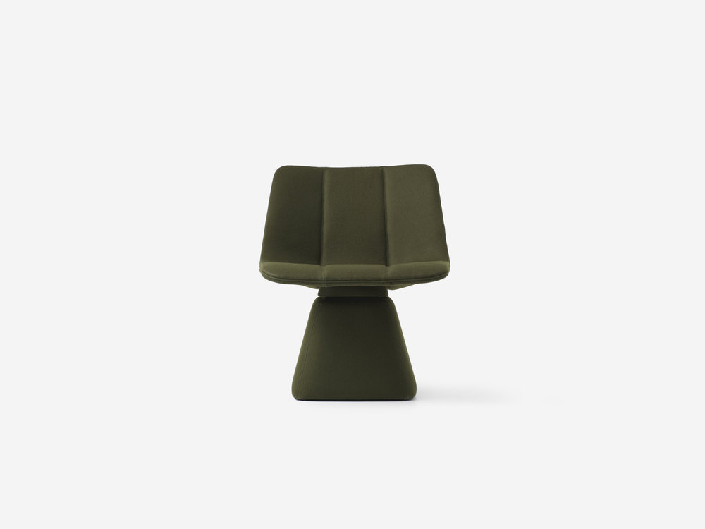 Volley Swivel Chair / Jamie McLellan for RESIDENT Product Link SPEC SHEET