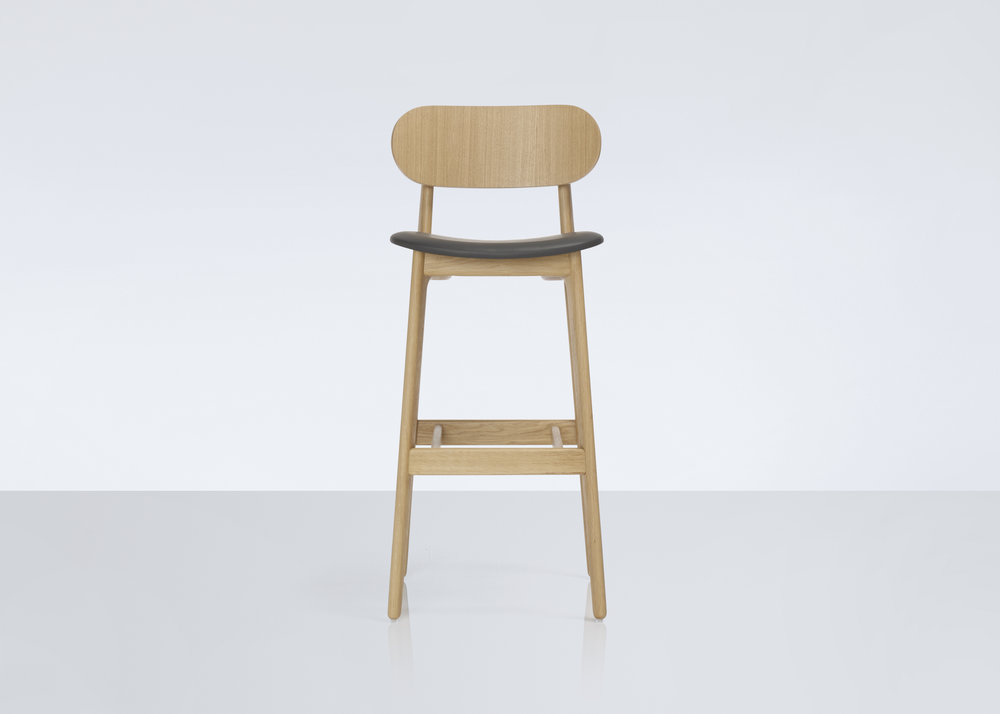 PLC Bar Stool / Pearson Lloyd for MODUS Product Link SPEC SHEET