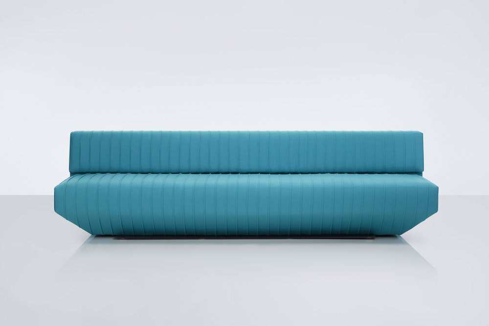 Pleats Sofa / Stephen Burks for MODUS Product Link SPEC SHEET