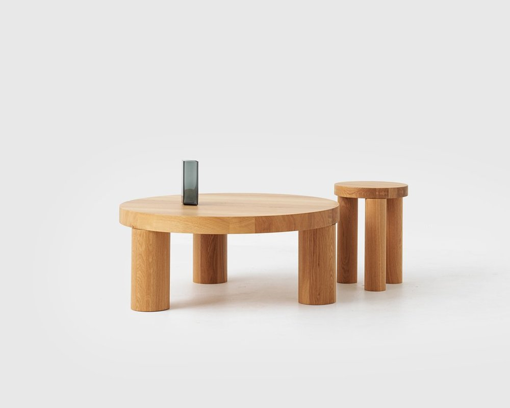 Offset Coffee Table / Philippe Malouin for RESIDENT Product Link SPEC SHEET