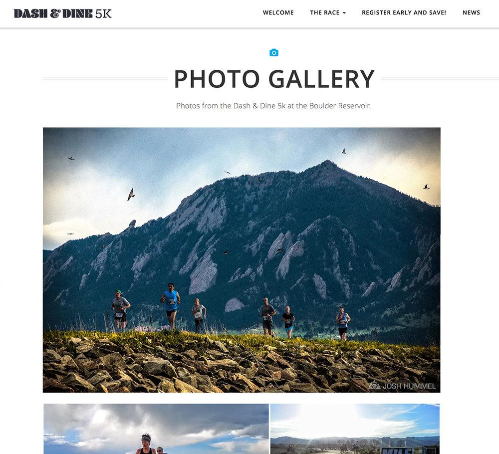 DASH & DINE 5K: MARKETING IMAGES