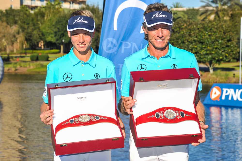 2014 Champions Bernhard and Jason Langer