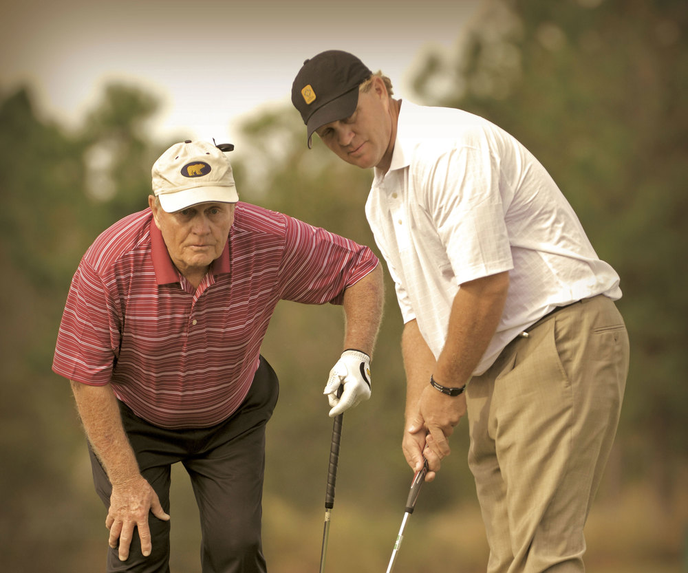 Jack Nicklaus and son Gary Nicklaus