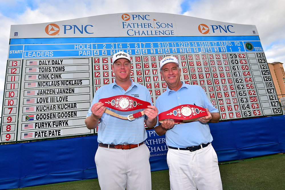 Congratulations to the 2018 PNC Father/Son Champions Davis Love III and Dru Love!