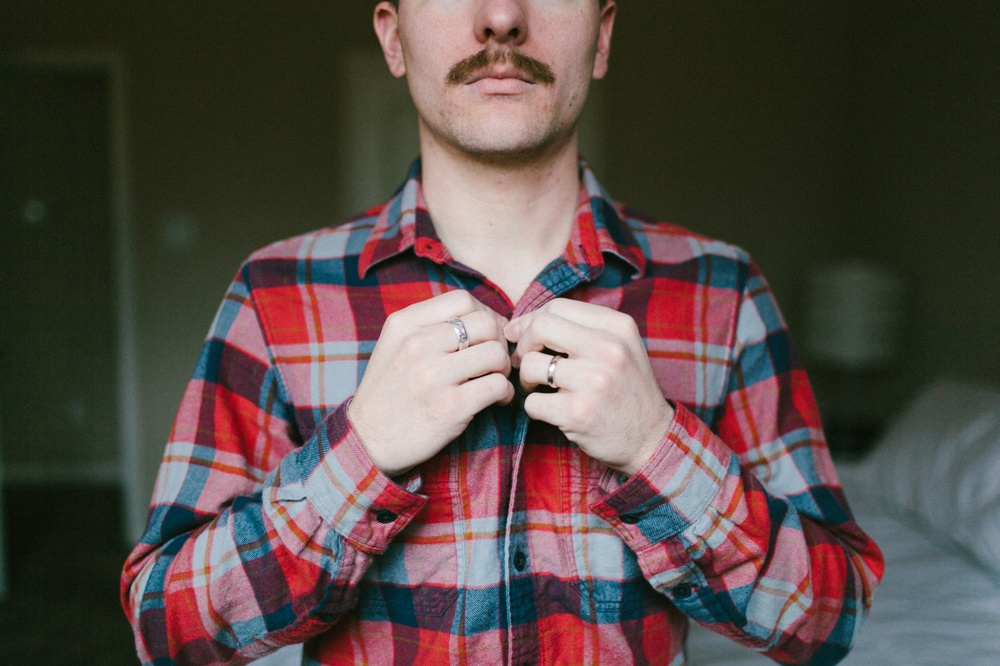What I learned while growing a moustache — Derek Harvey