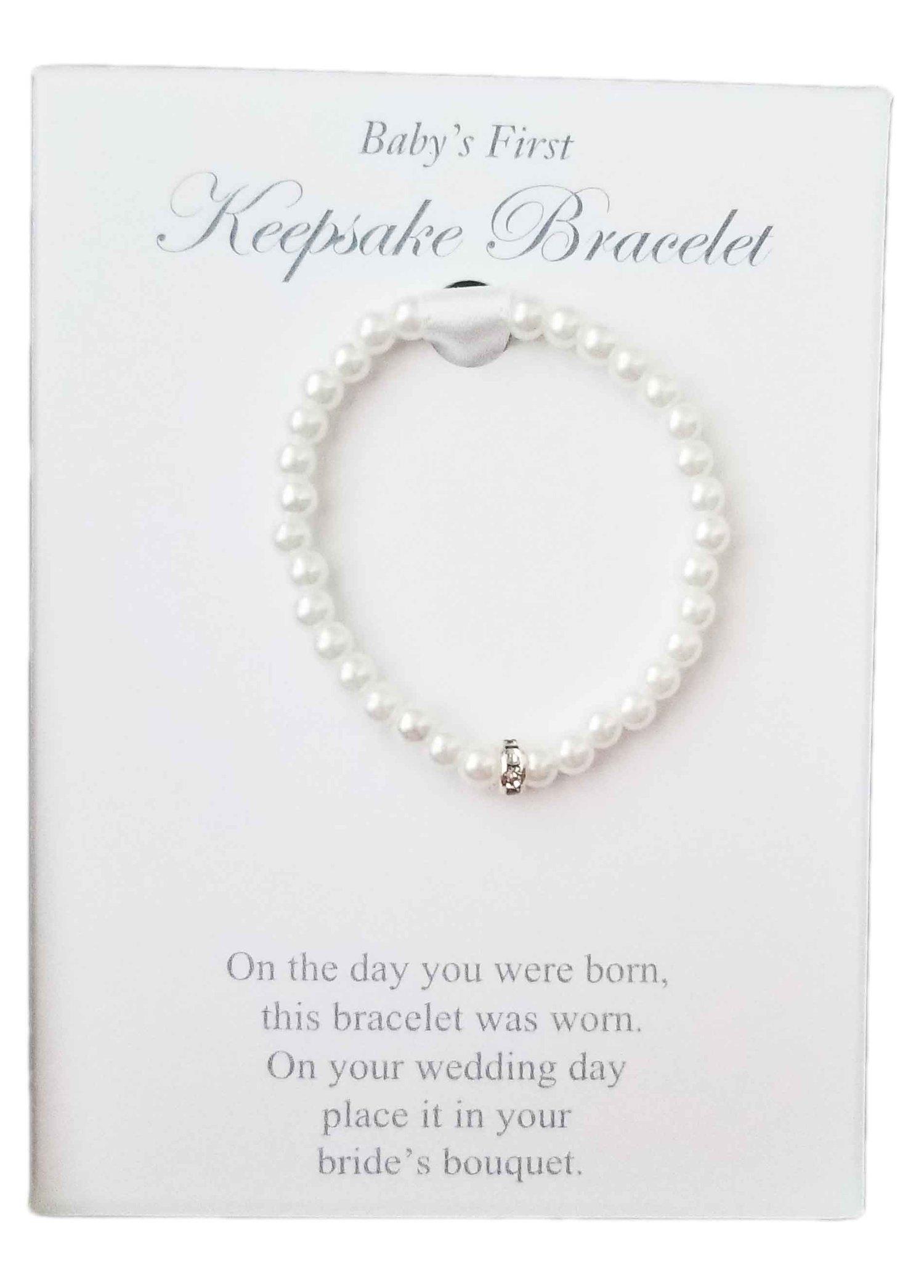 dd8c23731 Baby Keeksake Pearl Bracelet — Baby Keeksake Pearl Bracelet