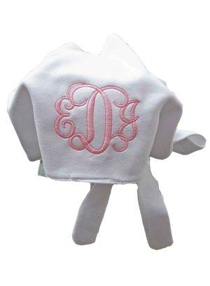 4f26ec9b817 Monogrammed Baby Sun Bonnet
