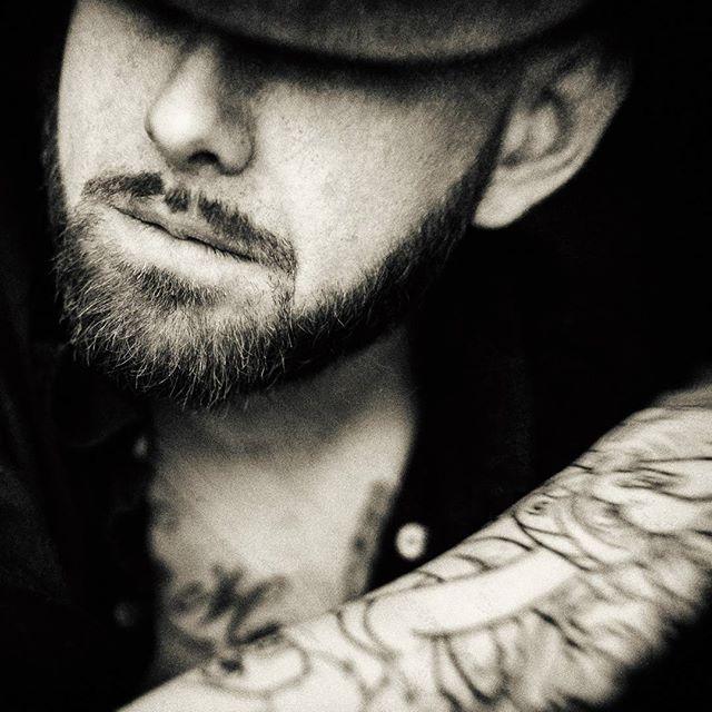 Just a fun photo shoot today with @bienczycki #photo #photoshoot #art #camera #model #beard #beardgang #guyswithtattoos #ink #tattoos #blackandwhite #classic