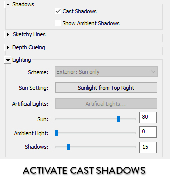 revit-activate-cast-shadows