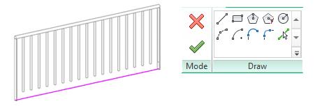 استفاده از نرده و نحوه ترسیم پله در رویت 1