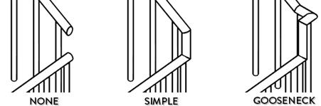 استفاده از نرده و نحوه ترسیم پله در رویت 9