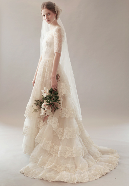 Vintage Lace Bridal Gowns From Mama — Elie\'s Alterations