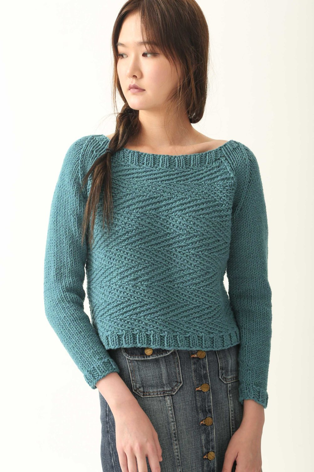 Herringbone Jumper